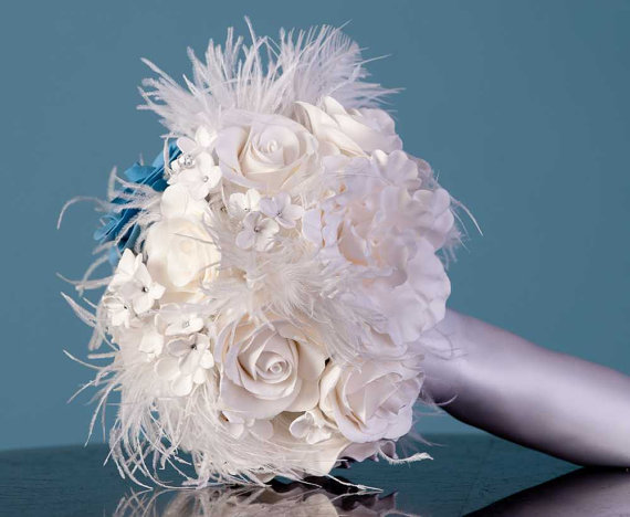 bouquet, wedding bouquet, bridal bouquet, clay bouquet, porcelain bouquet, keepsake bouquet, silk bouquet, white bouquet